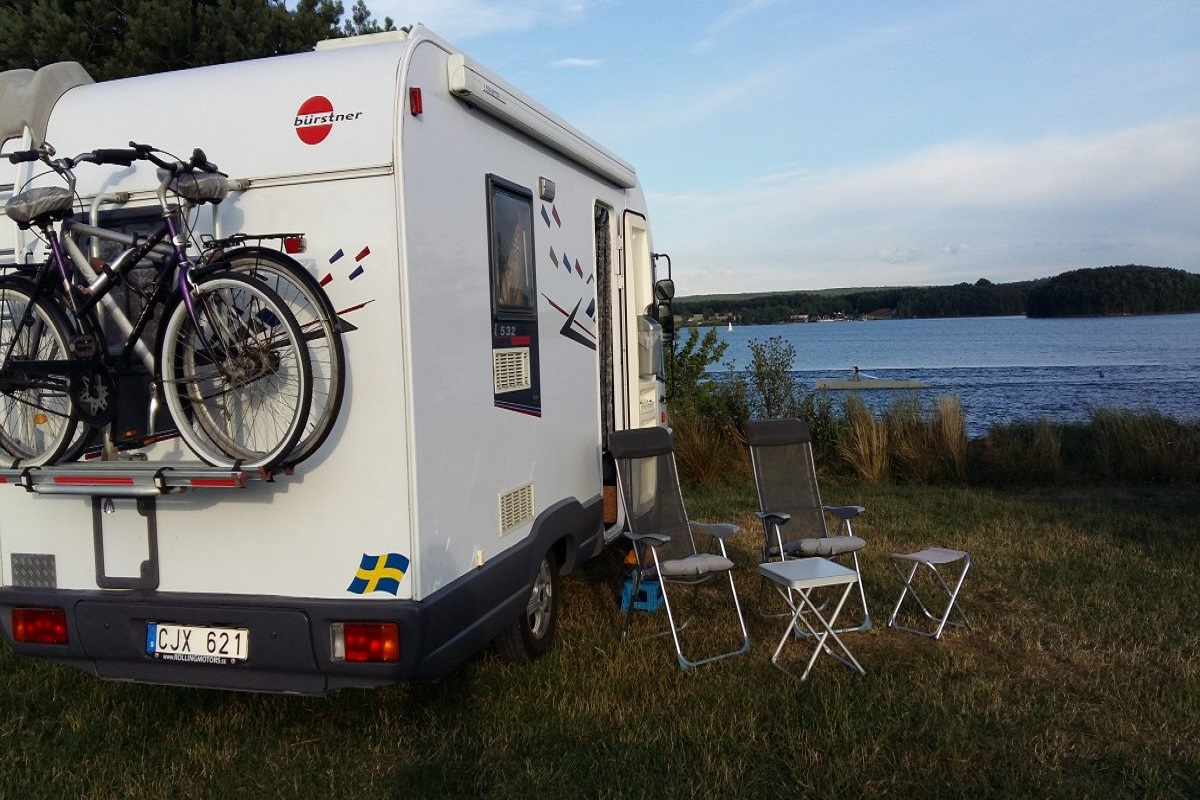 wohnmobil murner see camping park